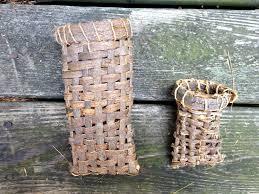 Am. Basswood baskets